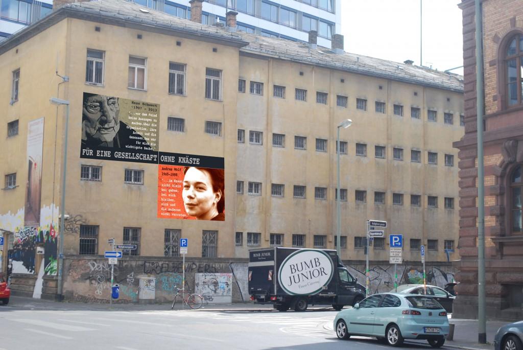 Entwurf: So könnte das Wandbild aussehen - aber wie genau wird erst am 23.10.2014 enthüllt....